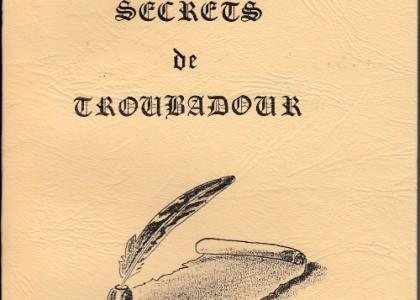 Secrets de troubadour